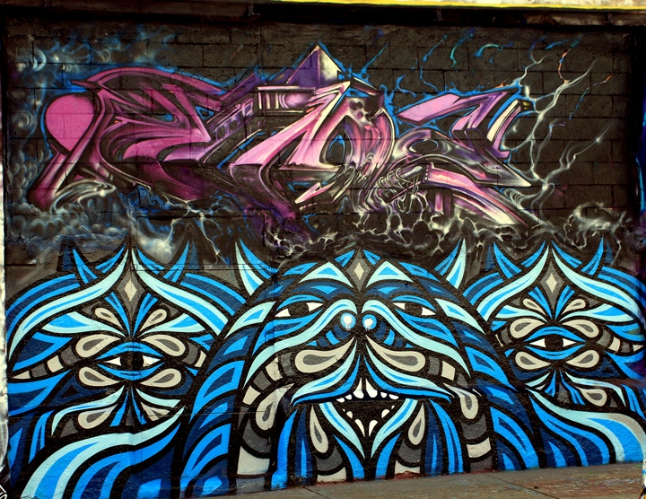 Beastman at 5Pointz in New York