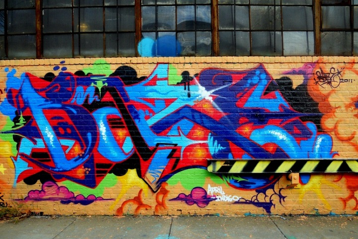 """Daze graffiti in Brooklyn"""
