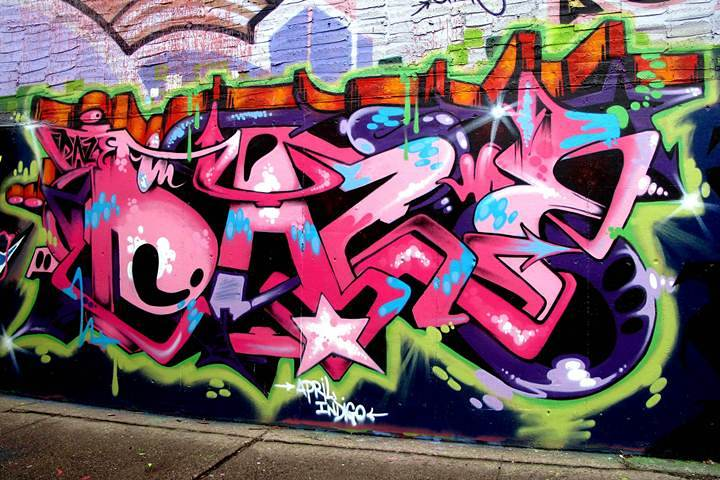 """Daze graffiti in Hunts Point"""