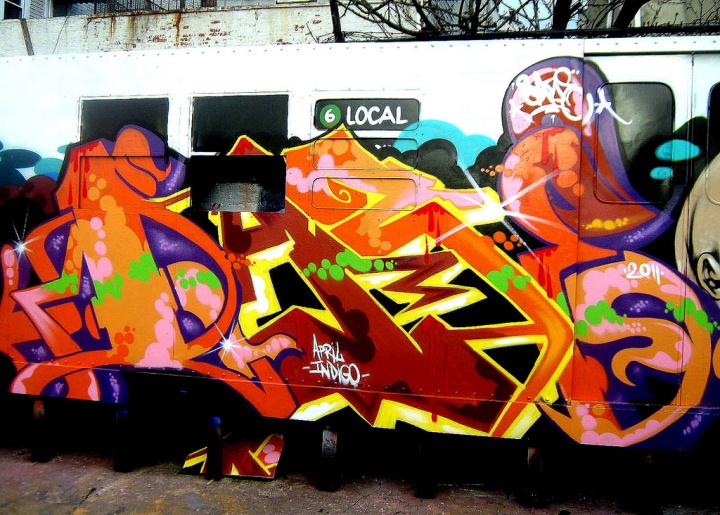 """Daze graffiti in the South Bronx"""