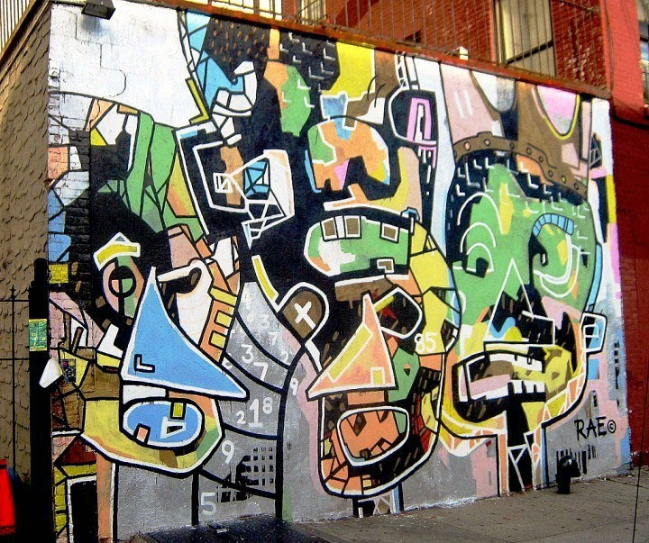 Rae mural in Brooklyn1 Speaking with RAE