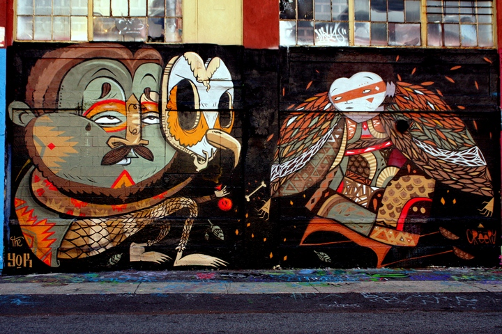 The Yok and Creepy street art at 5Pointz in New York