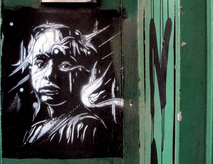 """C215 street art in Bushwick, Brooklyn, NYC"""