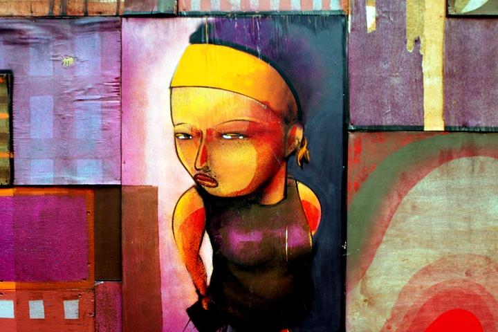 """""""Cekis street art in Brooklyn"""""""