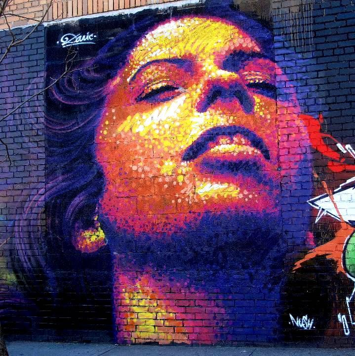 """Dasic street art in the Bronx"""