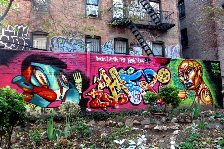 """Jade, Ket & Pesimo street art & graffiti in NYC"""