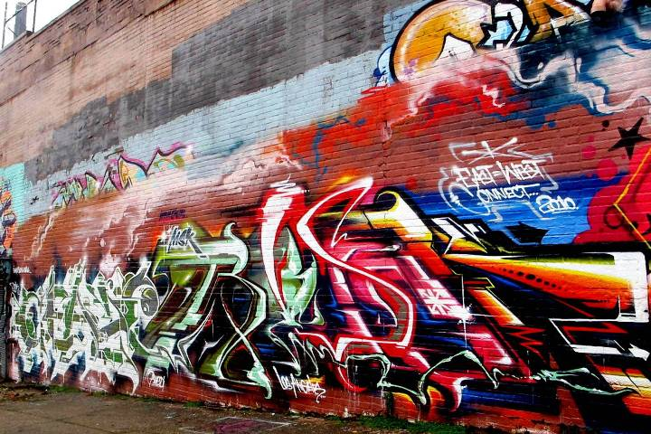 """MSK graffiti in the Bronx"""