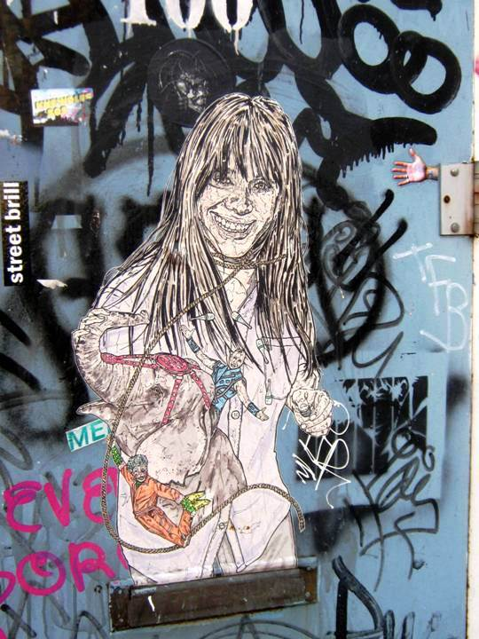 NohJColey in Bushwick Brooklyn Girls on Walls in NYC, Part lI: Cake, Cern, Dain, Jim Avignon, Never & Eras, NohJColey and Swoon