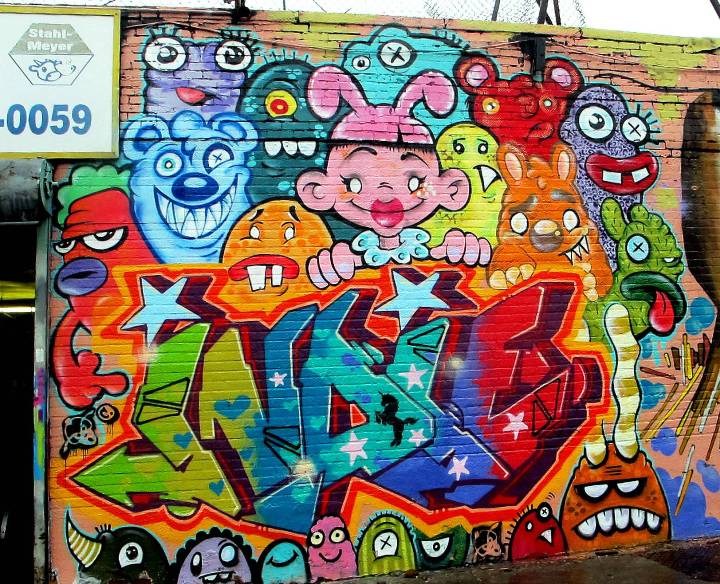 """""""Phetus & Indie184 Bronx street art & graffiti"""""""