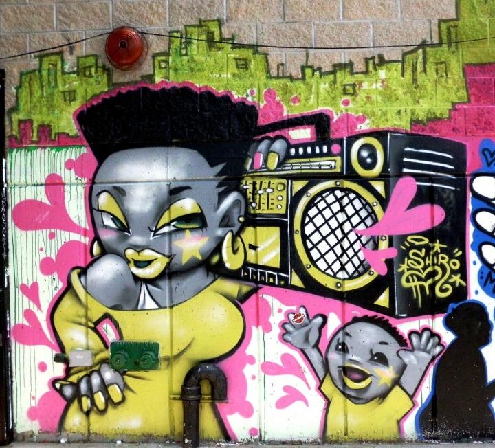 """Shiro street art in Brooklyn"""