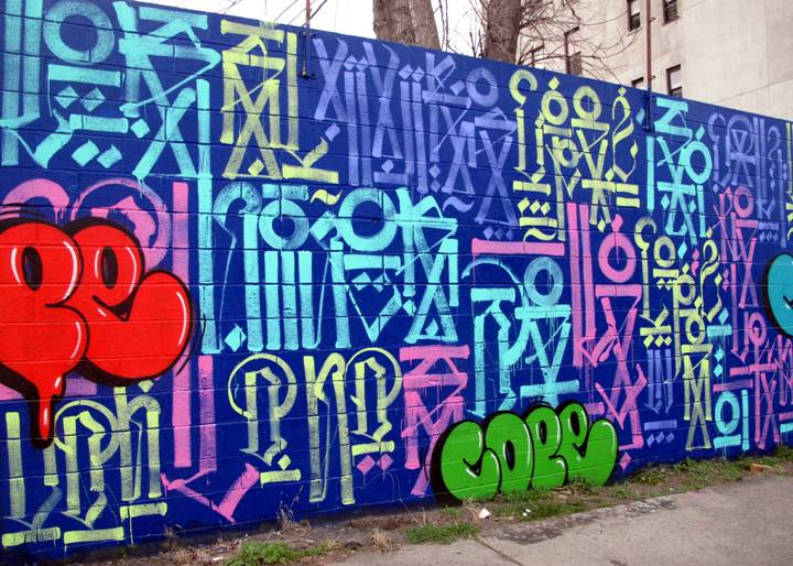 """Retna and Cope street art and graffiti in the Bronx"""
