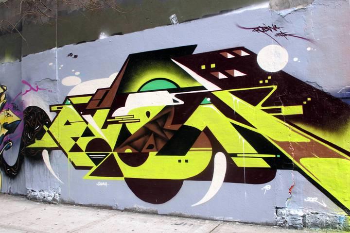 """Rubin415 street art/graffiti in the Bronx"""
