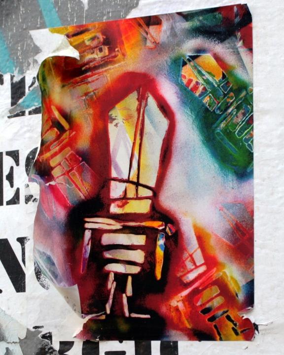"""""""Sti(c)kman street art in Brooklyn, NYC"""""""