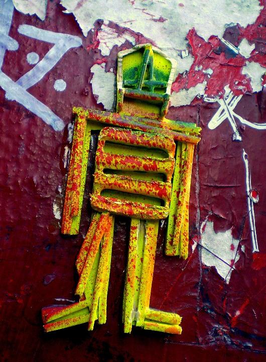 """""""Sti(c)kman street art in NYC"""""""