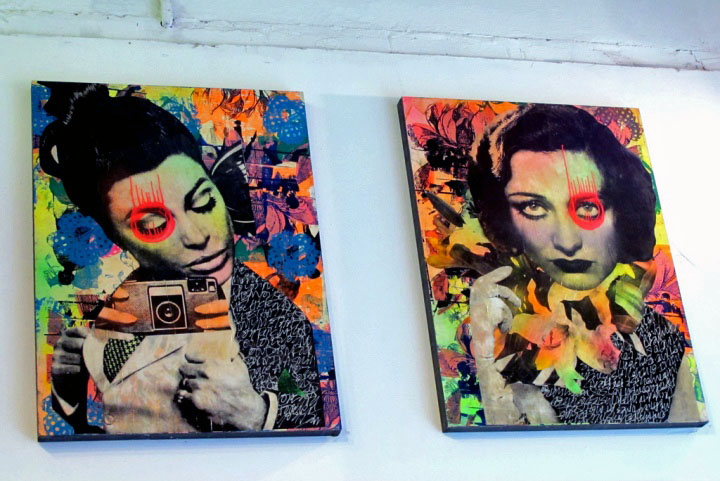 """Dain art at Leo Kesting Gallery, 2010, NYC"""