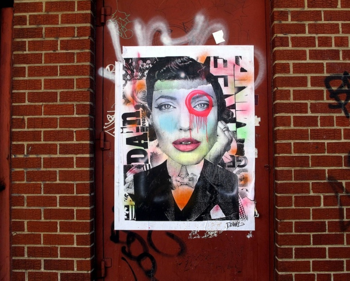 """Dain street art in Brooklyn, NYC"""