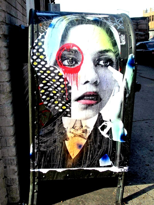 """Dain street art in Bushwick, Brooklyn, NYC"""