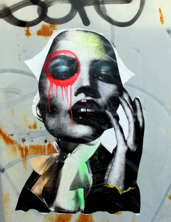 """Dain street art in Brooklyn, BYC"""