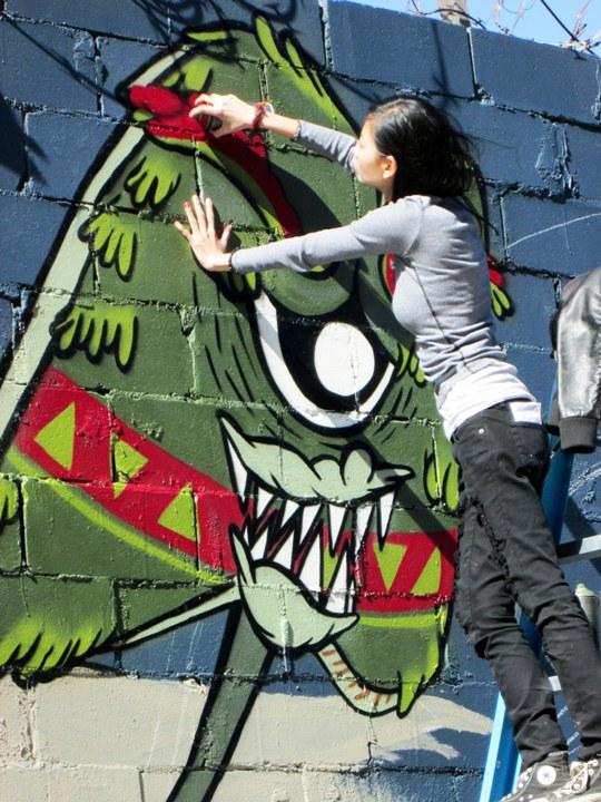 """""""Sheryo street art in Bushwick, Brooklyn"""""""