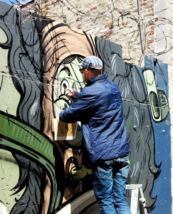 """The Yok street art in Brooklyn, NYC"""