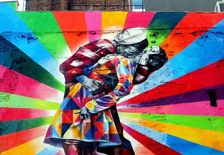 """Kobra street art"""