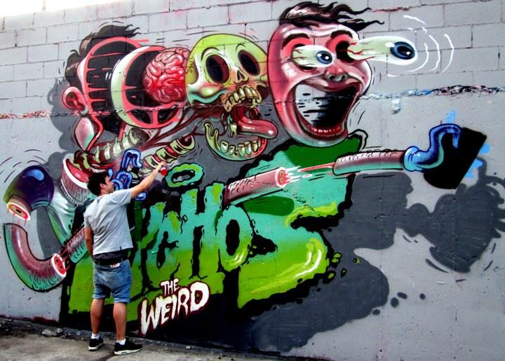 """""""Nychos street art in Bushwick"""""""