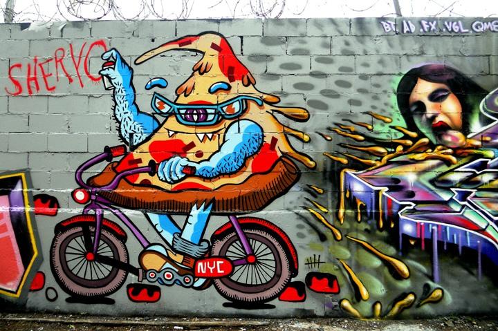 """""""Bushwick street art"""""""