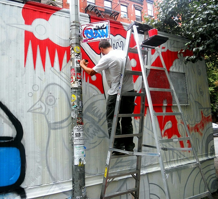 The Centre-fuge Public Art Project brings street art to NYCkidder city