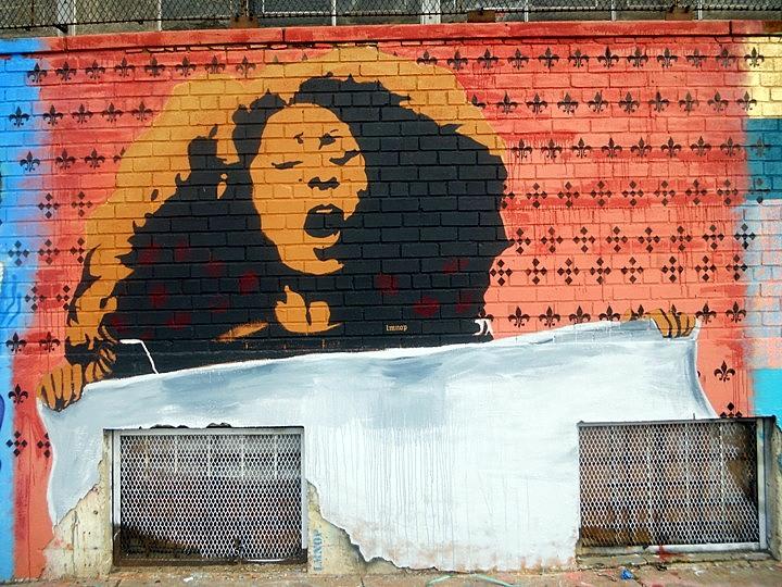 """LMNOP street art"""