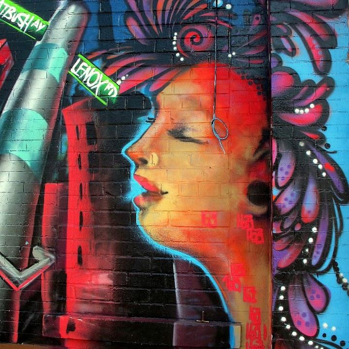 """""""Miss 163 street art"""""""