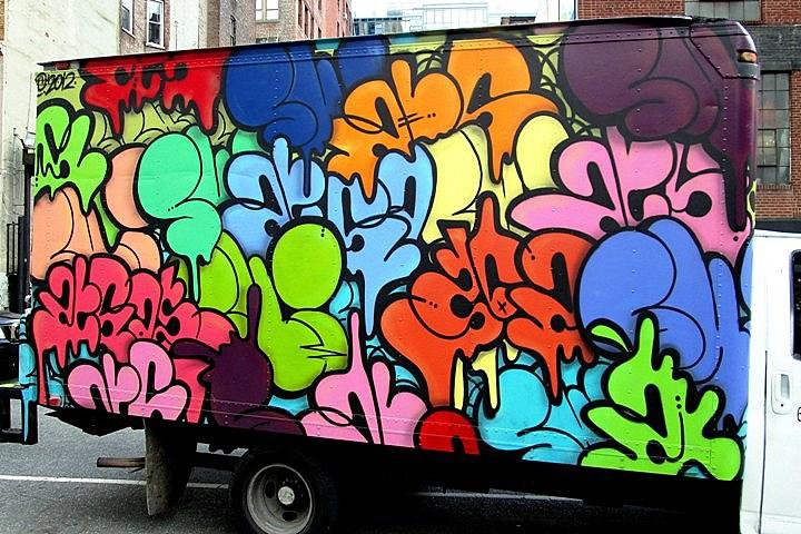 """UR New York on NYC truck"""