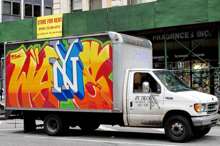 """Wane on NYC truck"""