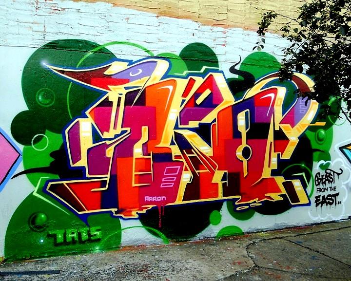 """Bio graffiti"""