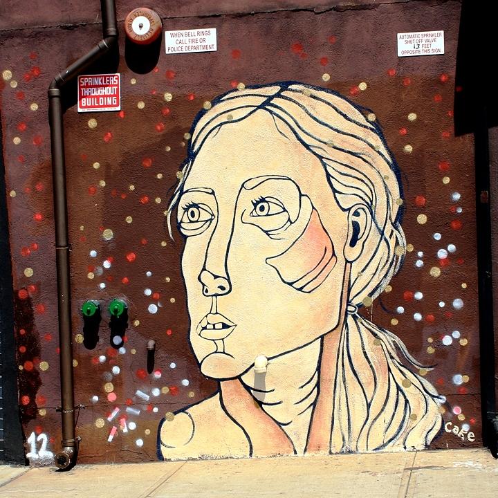 Cake Artist In Staten Island : New street art in Williamsburg, Brooklyn, New York from ...