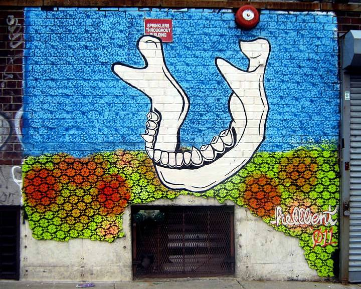 """Hellbent streetart"""