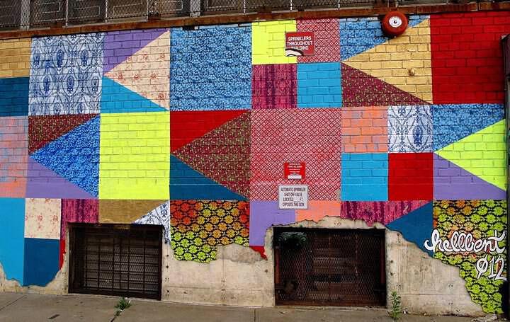 """Hellbent mural"""