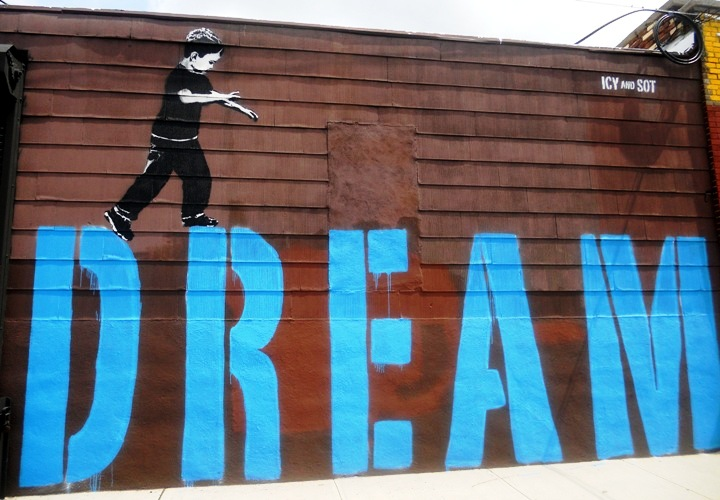 """""""Icy and Sot street art"""""""