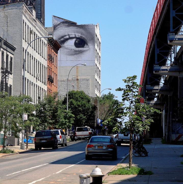"""JR street photography"""