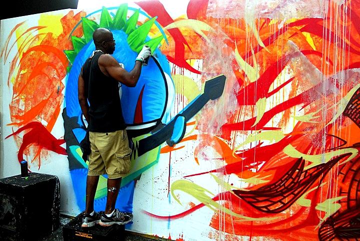 """See One street art"""