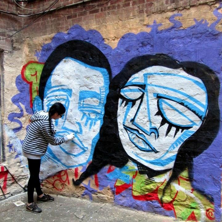 Alice Mizrachi steet art in the Bronx1 Speaking with Alice Mizrachi