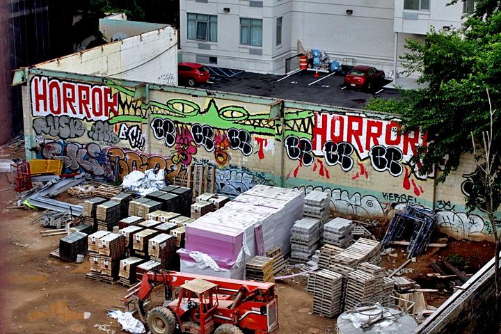 """""""Rowdy & Tek33 graffiti"""""""