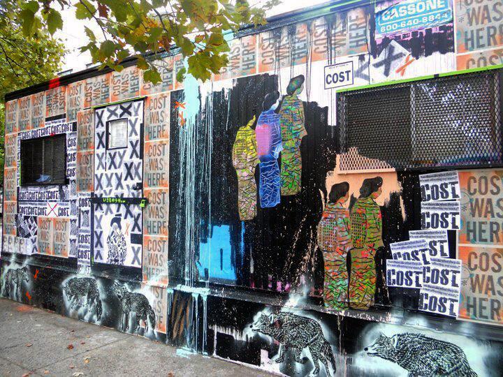 """""""Cost & Enx street art"""""""