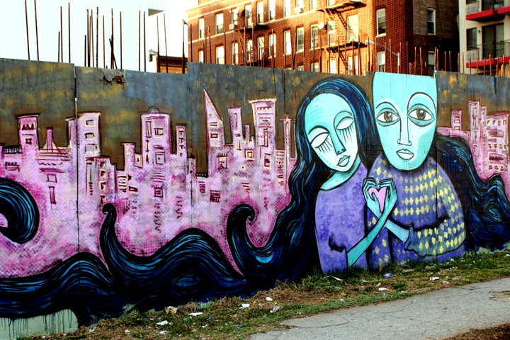 """Alice Mizrachi street art"""