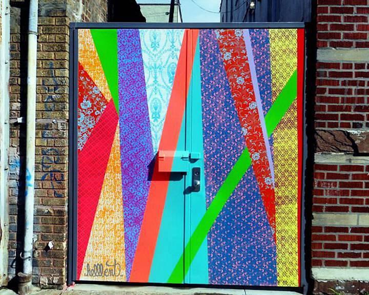 """Hellbent street art"""
