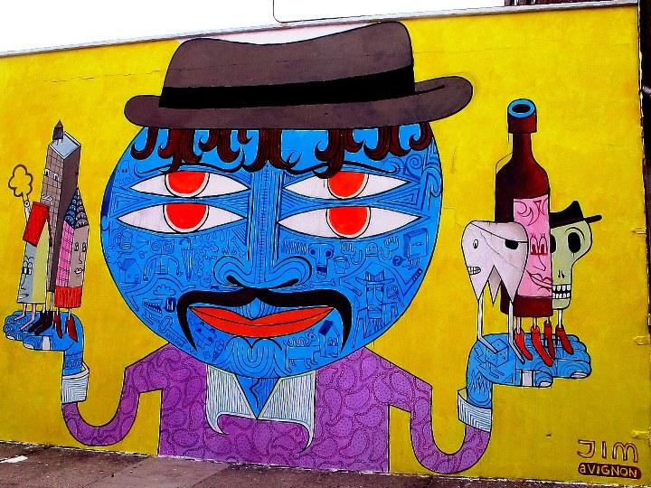 """""""Jim Avignon street art"""""""