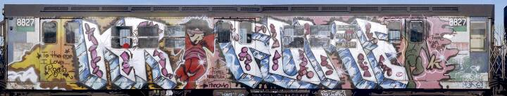 """KR.ONE graffiti"""