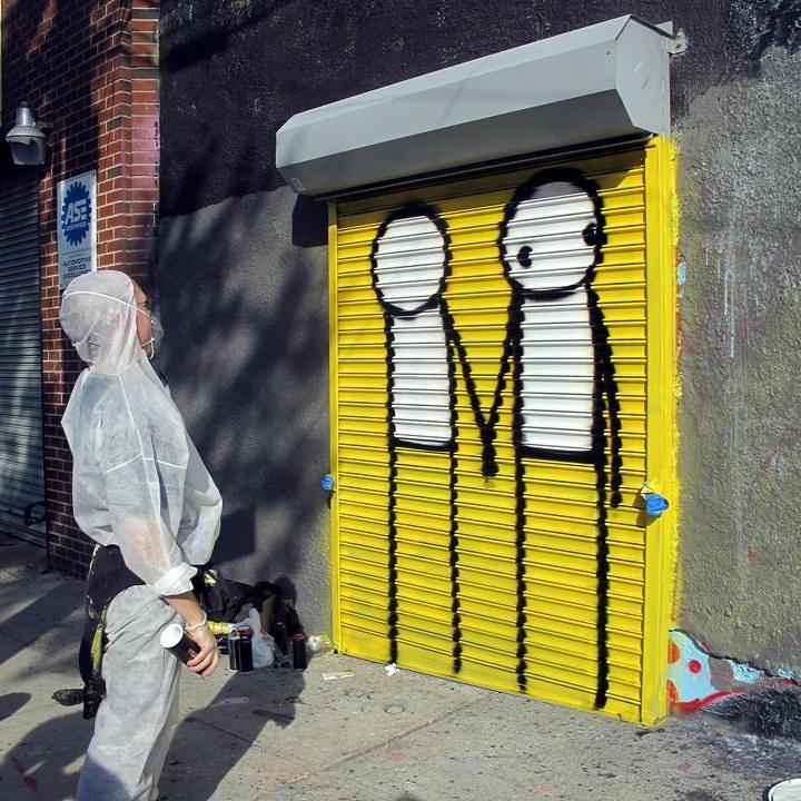 """Stik street art"""