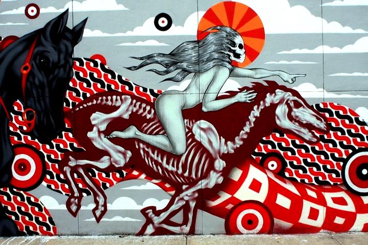 """Tristan Eaton street art"""