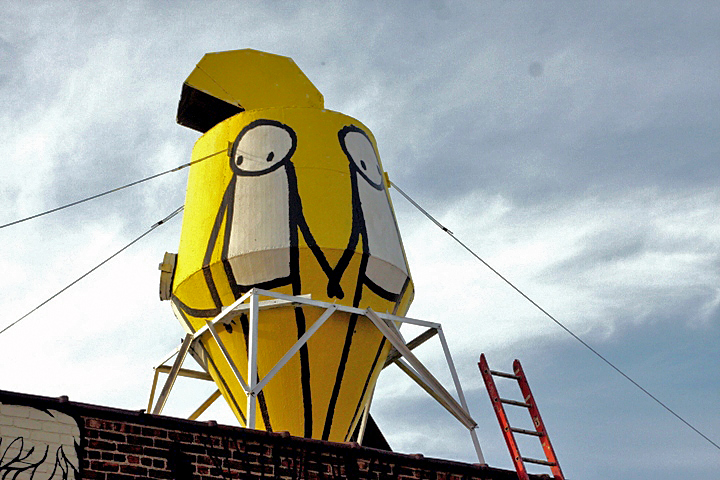 """Stik on Brooklyn rooftop"""