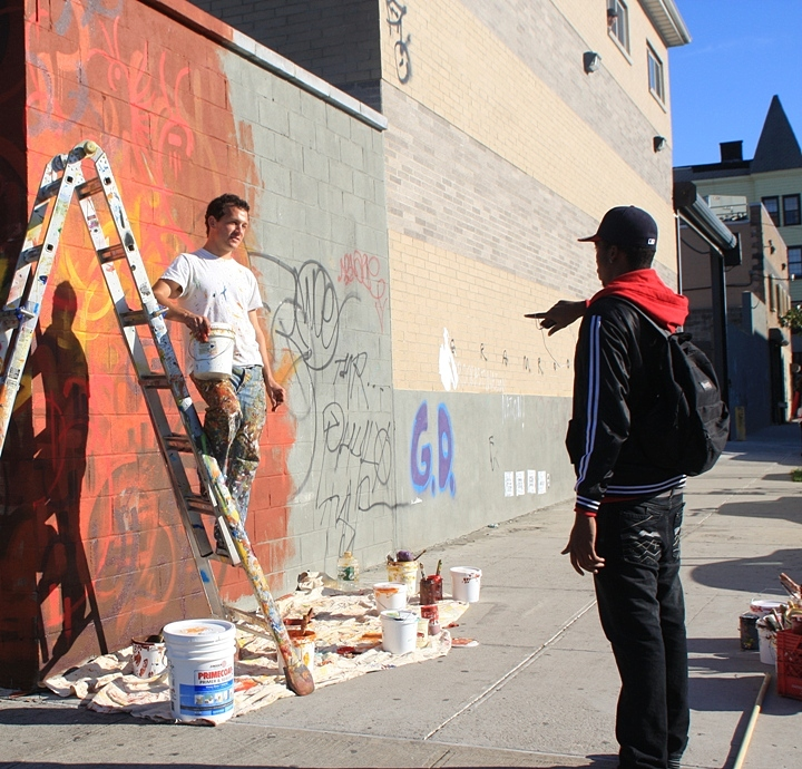 """Joel Berglin in Bushwick"""